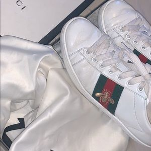 Women's Gucci Ace Embroidered Sneakers